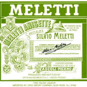 Anisetta Dolce – Meletti