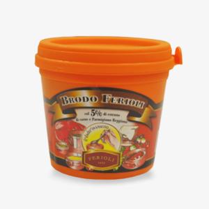 Brodo con Estratto di Carne 5% in pasta – Brodo Ferioli