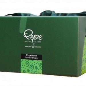 Panettone  tradizionale Pepe da 1 Kg.