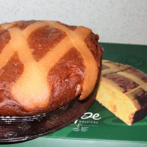 La Pastiera lievitata della pasticceria Pepe G.750