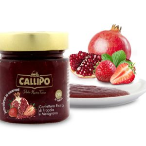 Confettura Extra di Fragola e Melograno G. 280 – Callipo